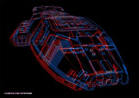 Galactica Redblue 3d Im by jimspon