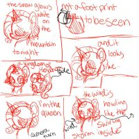 Frozen x MLP - Let It Go animatic comic (Page 1) by mare-itime