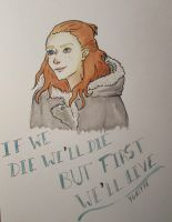 Ygritte - Game of Thrones by catarinasbm