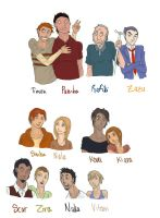 Lion King Characters HUMANS by rhymeswithmonth