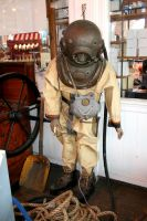 Stock - Old Diving Suit by GothicBohemianStock