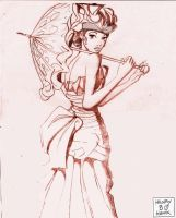 PARASOL GIRL by BLUEHAWK-55