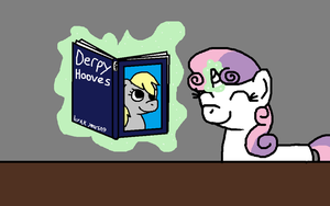 Sweetie belle uses magic by kimmycub1234