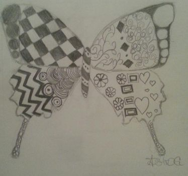 A tangled butterfly by ZodiacQueen