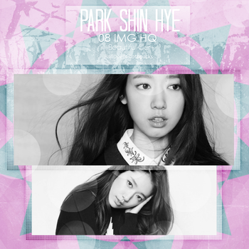 -PHOTOPACK #01 Park Shin Hye by RollDeep-Photopacks