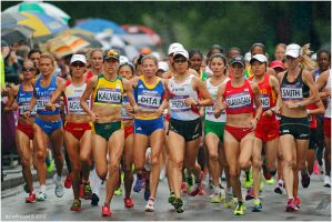 Womens Olympic Marathon 2012 by andy-j-s