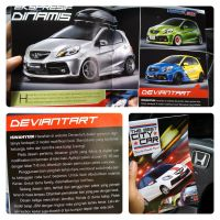 Modifikasi Honda Brio di Tabloid OTOMOTIF by idhuy