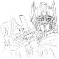 First Optimus Prime by edmundasBakashinji