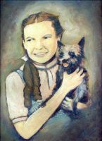 Dorothy and Toto by finalprodigy
