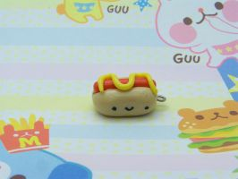Kawaii Hot Dog by CuteTanpopo