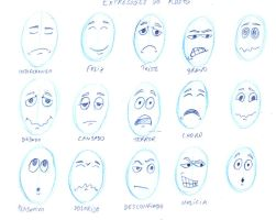 Facials Expressions Study by icoman