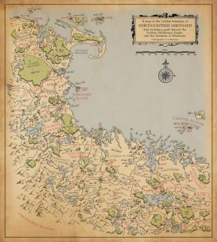 Map of North-Eastern Durthaen by VapourNZ