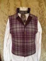 Steampunk-Victorian-Mad Hatter waistcoat PCW13-3 by JanuaryGuest