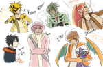 PKMN SS team by Nire-chan