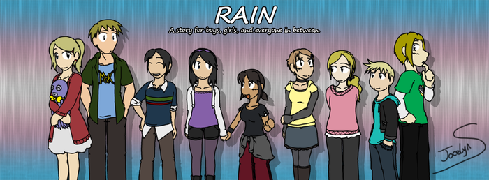 RAIN - Some Smexy Friends by JocelynSamara