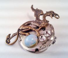 Dragon on Egg by SteamDesigns by SteamDesigns