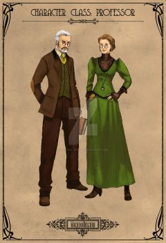 Character Class: Professor by Machina-Obscura