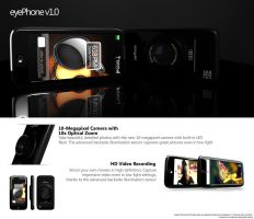 eyePhone v1.0 - Concept Phone by ds-studio