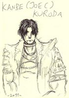 Joe C Kuroda sketch 2011 by WAH-HOO