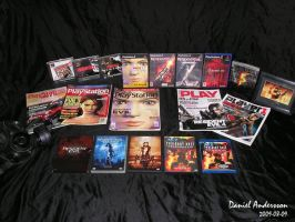 Resident Evil Games and Movies by SASWHITEKNIGHT