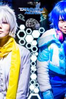 DMMD (DRAMAtical Murder): Aoba and Clear by ronjoenas01