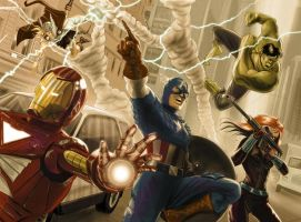 The Avengers by cdelafuente