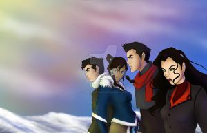 Team Avatar by hamstermermaid