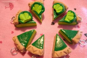 Polymer Clay Lime Pie by Hatsune-Miku-rocks