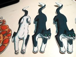 Bookmarks, and Custom Commissions by Octobertiger