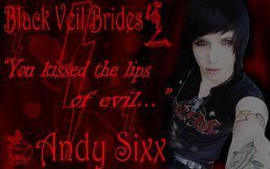 Andy Sixx Wallpaper by XxXTAI-SantiXxX