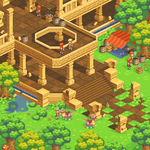 Isometric Pixel Environment by KucingBudhug