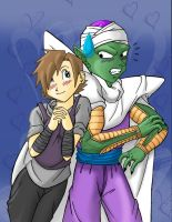 Piccolo and Meg by Mastens