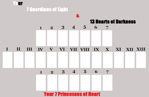 Your 7 of Light and 13 of Dark Meme by N0-oB213