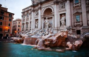 Trevi Fountain by dgt0011