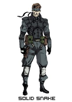 Solid Snake by tomimumemo