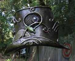 Greenman Top Hat, side by organicarmor
