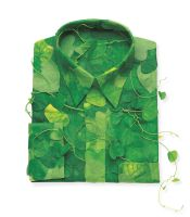 Shirt made of leaves. by sharadhaksar