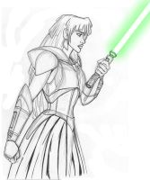 Darth Kida - rough sketch by JosephB222