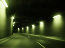 Night Tunnel by deathangel