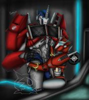 Come here Optimus my love! by LadyElita-Arts