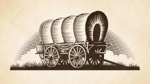 Covered Wagon by mightyclever