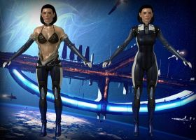 Dr. Eva Core from Mass Effect 3 by Melllin