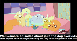 We Need More Episodes About Jake The Dog Own K by newsuperdannyzx