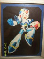 Mega Man X, My Most Prized Art by DarkSerena