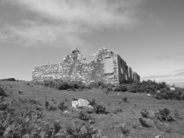 Lundy Ruin 2 by foxyfellowuk