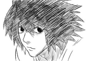 Request: L Lawliet by Kayaba-Wolf