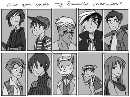 Favourite Characters by ashwara