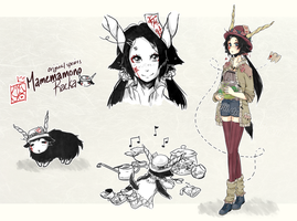 [CLOSED] Mamemamono Adopt ver. Racka by mayoujii