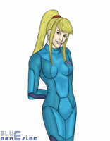 Samus Zero Suit 12202009 by BLUEamnesiac