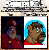 Comparison Meme by CaseyLJones